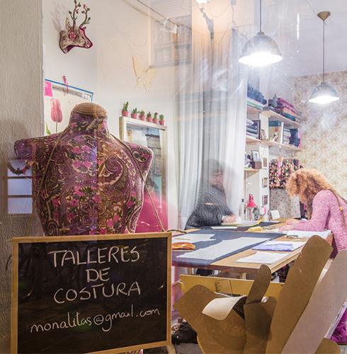 talleres de costura en Zaragoza